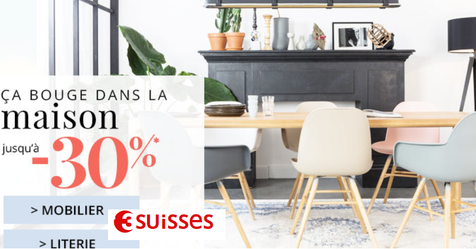 Catalogue 3 Suisse -30% sur le mobilier