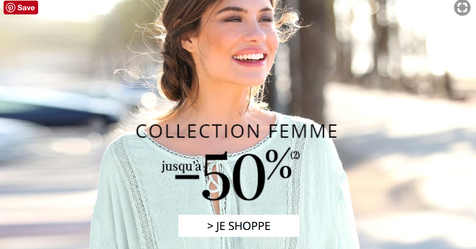 Catalogue 3 Suisse Nouvelle collection Femme -50%