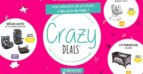 Catalogue Bébé9 Crazy Deals