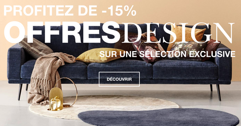 Catalogue BoConcept Offres Design -15%