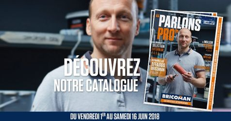Catalogue Bricoman Parlons Pro