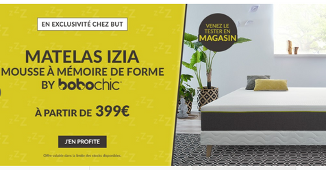 Catalogue But Matelas IZIA