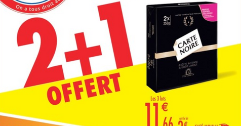 Catalogue Carrefour Market 2 + 1 OFFERT