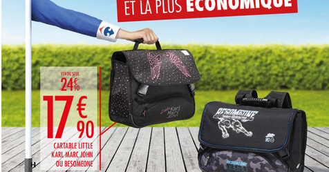 Catalogue Carrefour La rentrée des classes