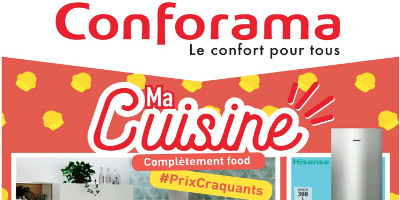 Conforama Catalogue Ma cuisine du 24/04/2018 au 21/05/2018 ...