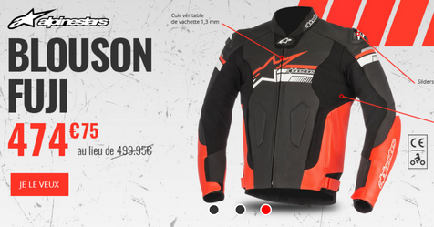 Catalogue Dafy Moto Blouson Fuji