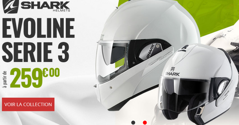 Catalogue Dafy Moto Shark Casque Evoline Series 3
