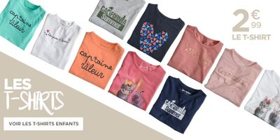 Catalogue DistriCenter Tee-shirt enfants