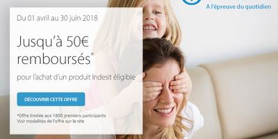 Catalogue Group Digital Indesit 50€ remboursés