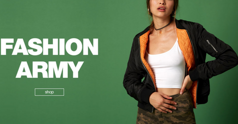 Catalogue Jennyfer Fashion Army