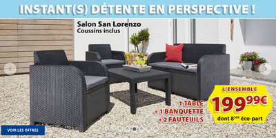 Jysk Créé Palermo Table Le Catalogue De 09052018 App4promos Jardin Tlc1K3FJu