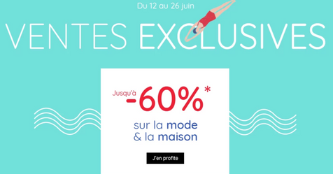 Catalogue La Redoute Ventes exclusives jusqu'à -60%