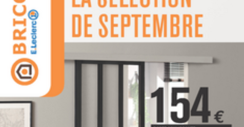 Promo Aménager Catalogue Leclerc La Selection De Septembre