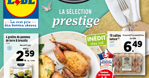 Catalogue Lidl Sélection Prestige