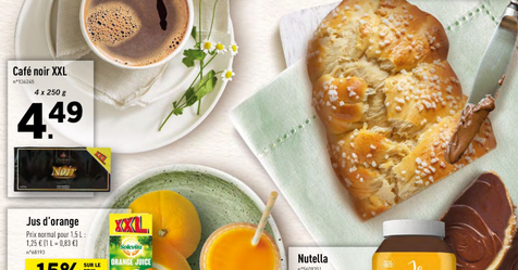 Catalogue Lidl Un brunch pour maman