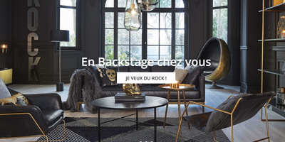 maisons du monde catalogue tendance backstage cr le 11 05 2018 app4promos. Black Bedroom Furniture Sets. Home Design Ideas