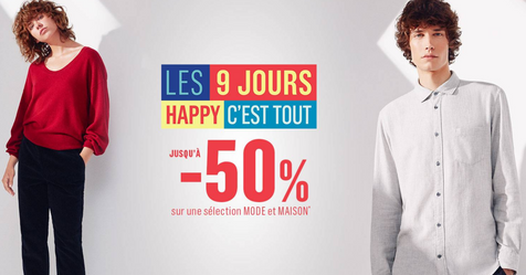 Catalogue Monoprix Les 9 jours Happy