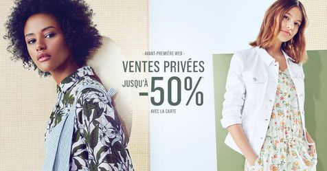 Catalogue Monoprix Ventes privées jusqu'à -50%