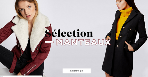 Catalogue MorganDeToi Sélection Manteau