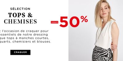 Catalogue MorganDeToi Top & Chemises jusqu'à -50%