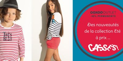Catalogue Ooxoo Outlet Nouvelle collection -40% permanents