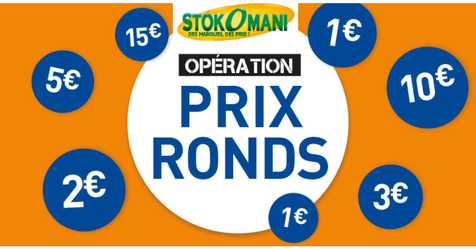 Catalogue Stokomani Prix ronds