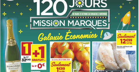 Catalogue Super Casino 120 Jours Mission Marques