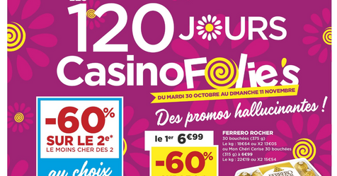 Catalogue Super Casino Les 120 jours CasinoFolies