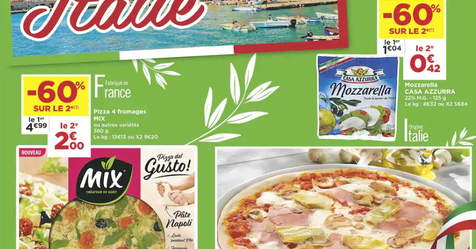 Catalogue Super Casino Voyage gourmand en Italie
