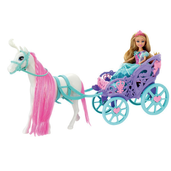 Princesse Sparkle Girlz et son carrosse sparkle 0884978247342