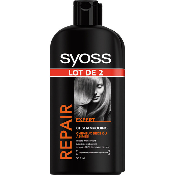 Shampooing et Après-shampooing syoss