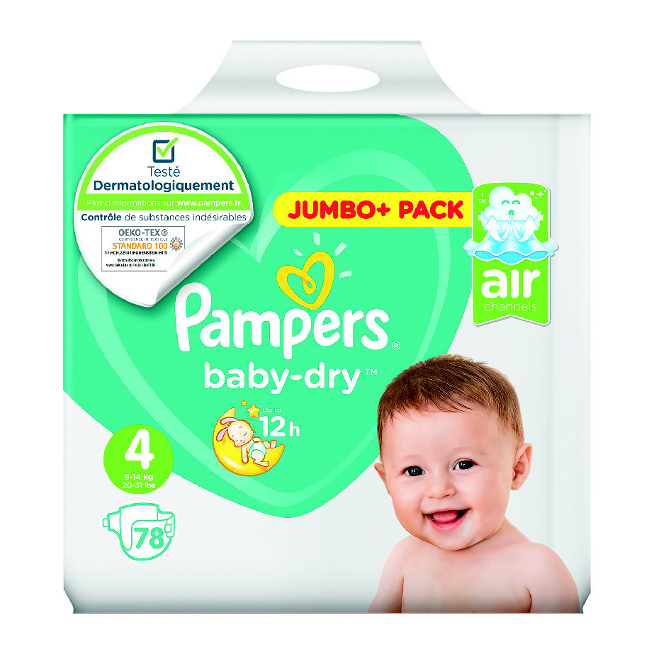 """4015400833796 CHANGES BÉBÉ """"PAMPERS BABY DRY"""" - App4promos 509b03fa237"""