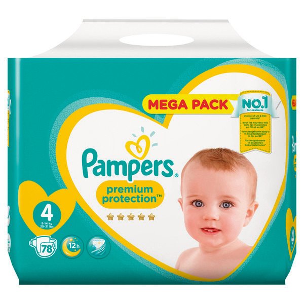 Couches Premium Protection pampers
