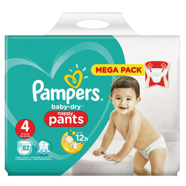 Mega pack Culottes Baby-Dry Pants pampers